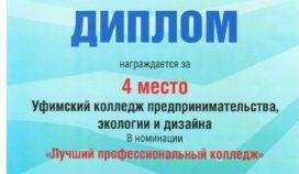 Конкурс: «Лучшее профессиональное учебное заведение Республики Башкортостан»